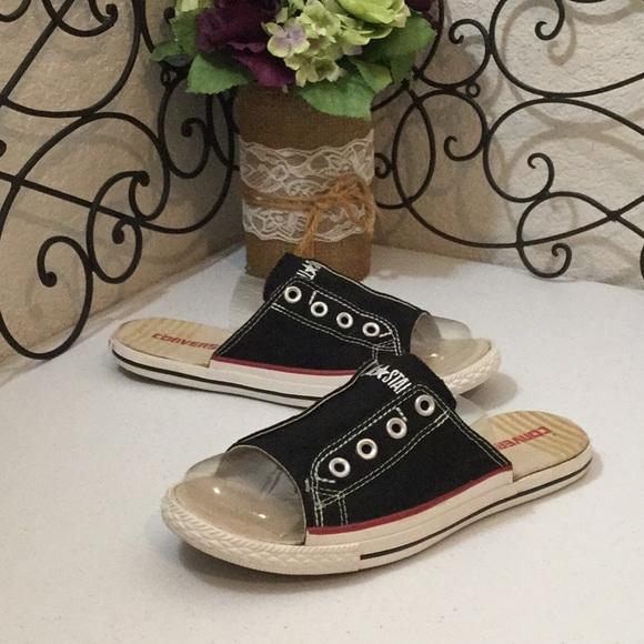 900886bcac4b Converse Shoes - CONVERSE ALL⭐️STAR Sneaker Slides